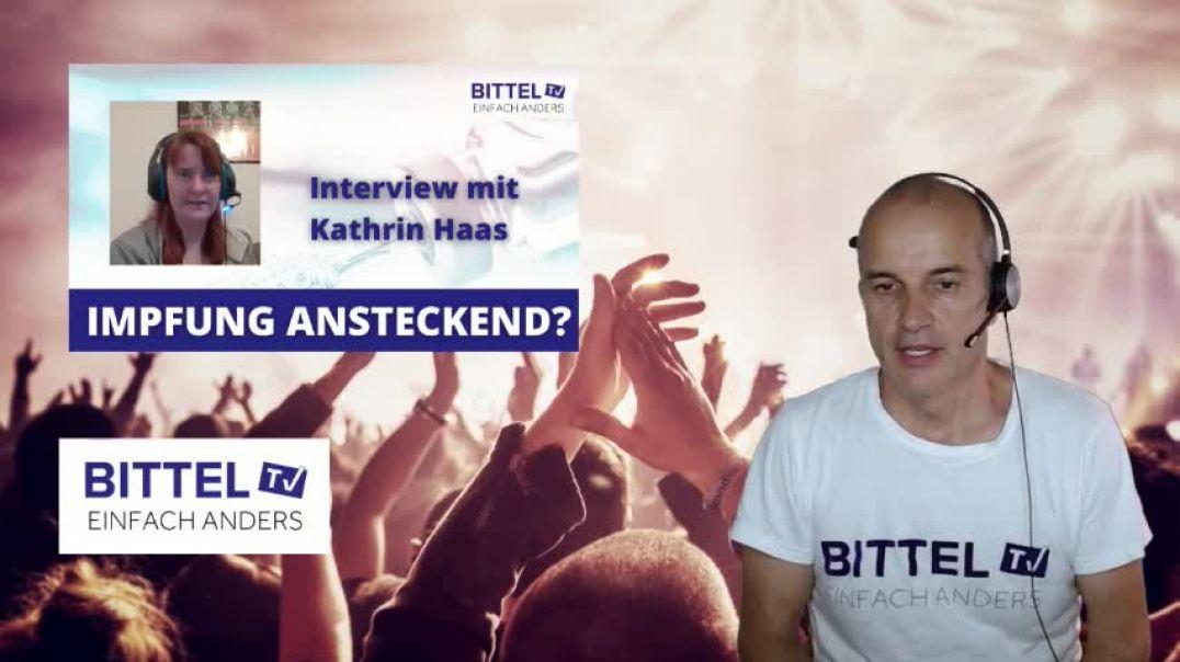 LIVE - Interview mit Kathrin Haas - Impfung ansteckend?