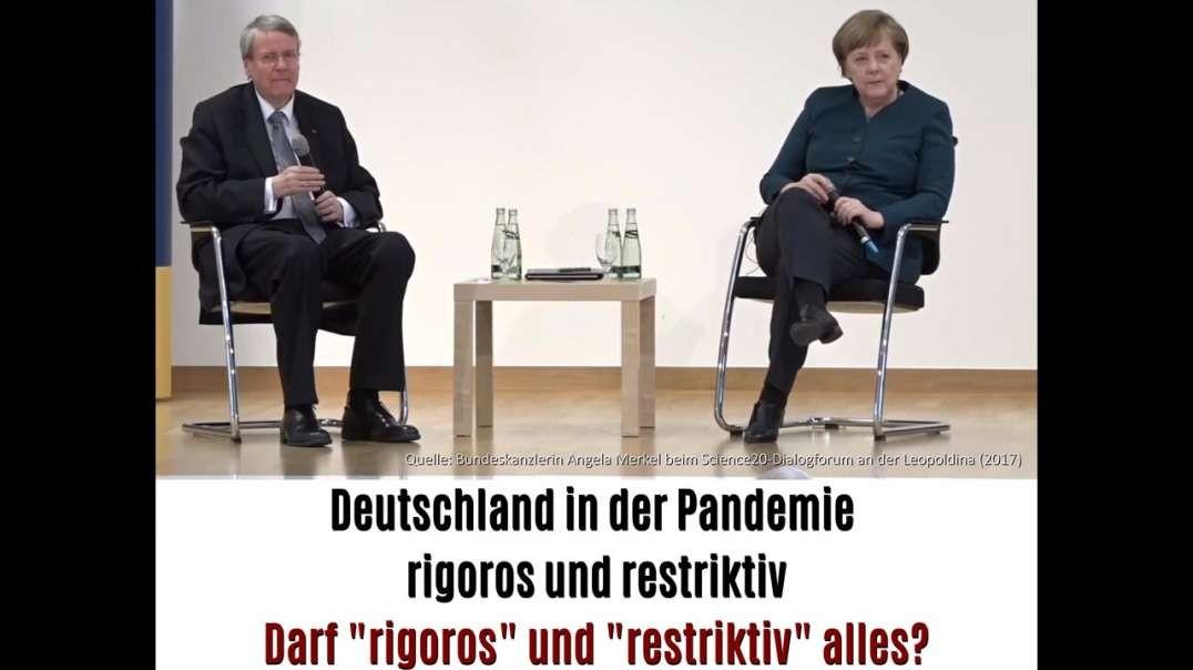 """Merkels Vorhersage - Was darf """"rigoros"""" und """"restriktiv""""?"""