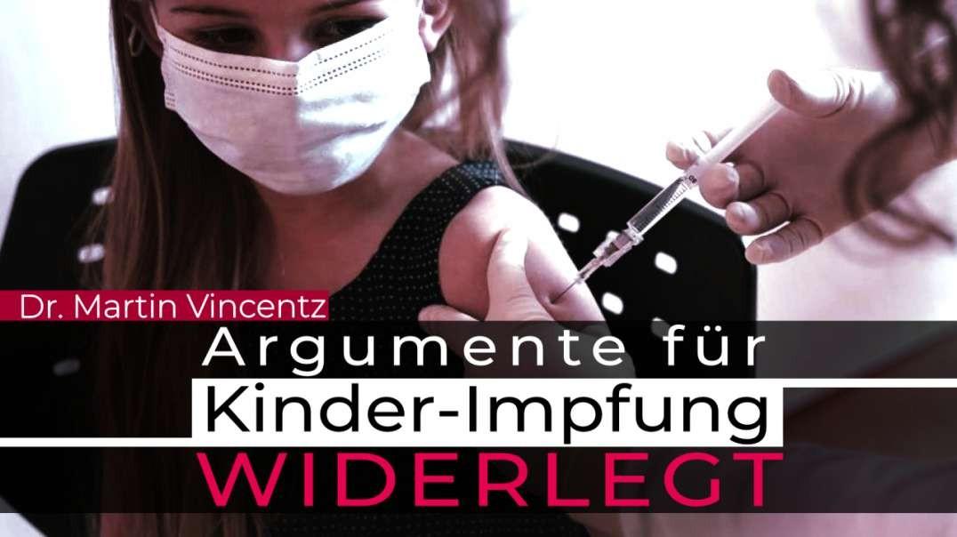 Argumente für Kinder-Impfpflicht widerlegt
