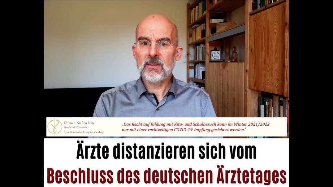 #nichtmeinaerztetag - Ärzte distanzieren sich vom Beschluss des 124. deutschen Ärztetages