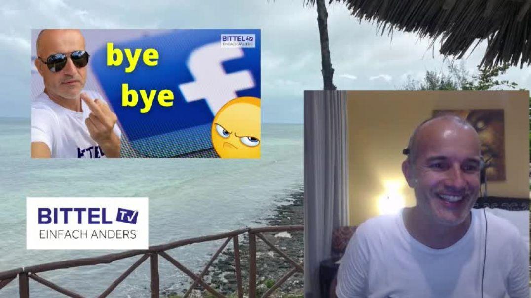 LIVE - Facebook Account löschen - BYE BYE