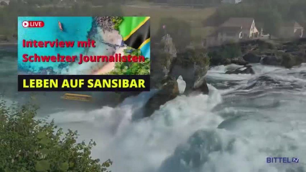 LIVE - Interview mit Schweizer Journalisten - Leben auf Sansibar
