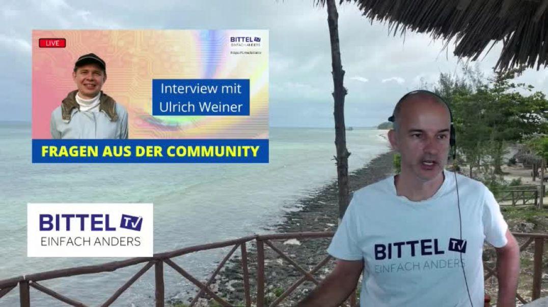 LIVE - Interview mit Ulrich Weiner - Fragen aus der Community