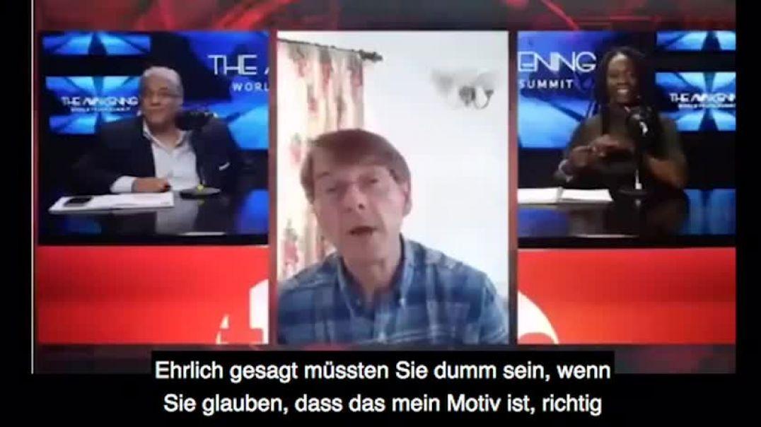 Ex-Pfizer-CEO platzt der Kragen im Live-Interview:  F***t Euch!