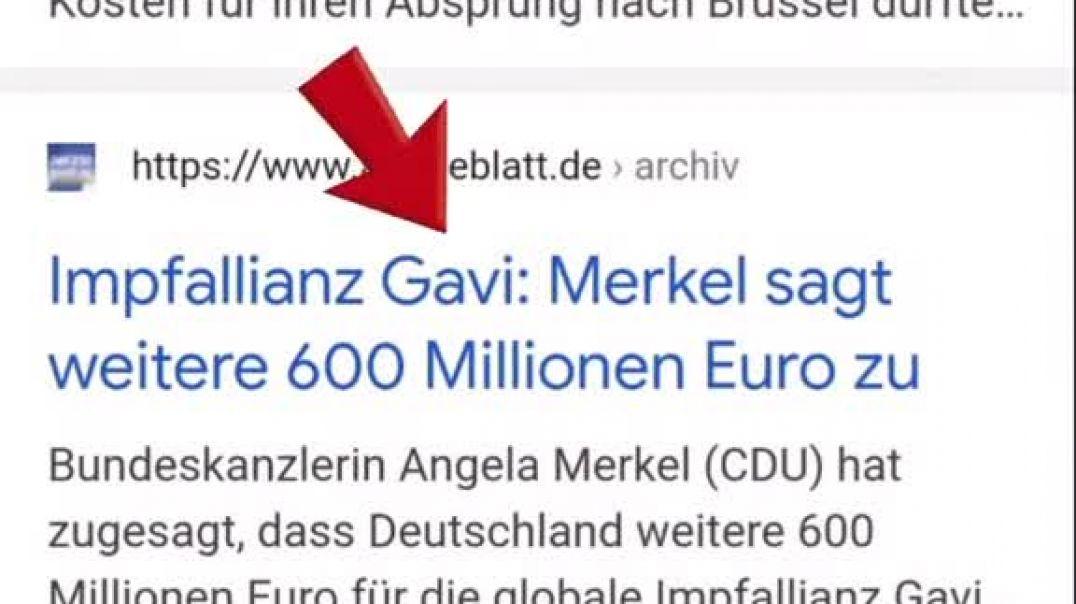 Merkels Milliardenspenden