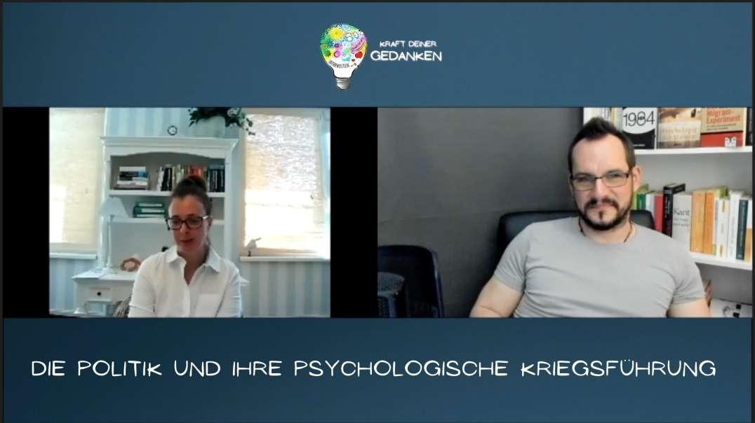 Die Politik und ihre psychologische Kriegsführung - Psychologin Pracher-Hilander im Gespräch!