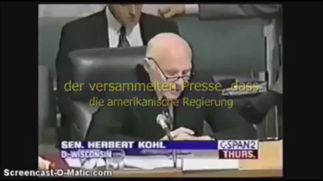 Aussage vor US Senat Regierung baute Wetterwaffen