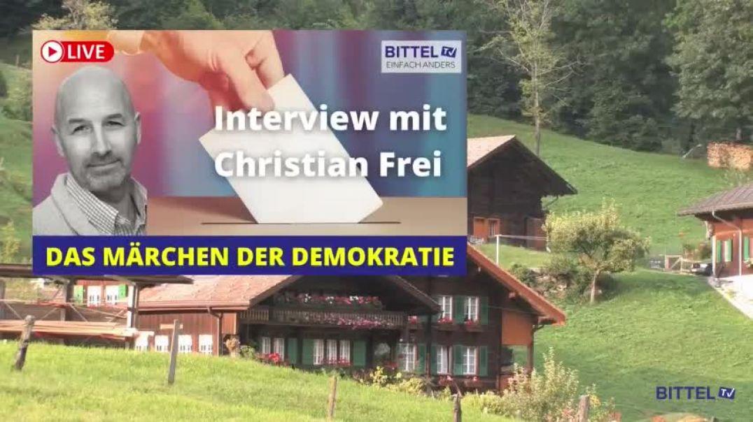 LIVE - Interview mit Christian Frei - Das Märchen der Demokratie