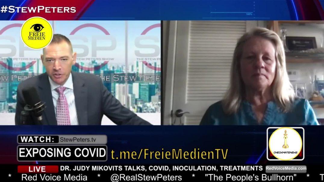 Stew Peters im Gespräch mit Dr . Judy Mikovits | 'Impfstoffe' ENTHÜLLT!