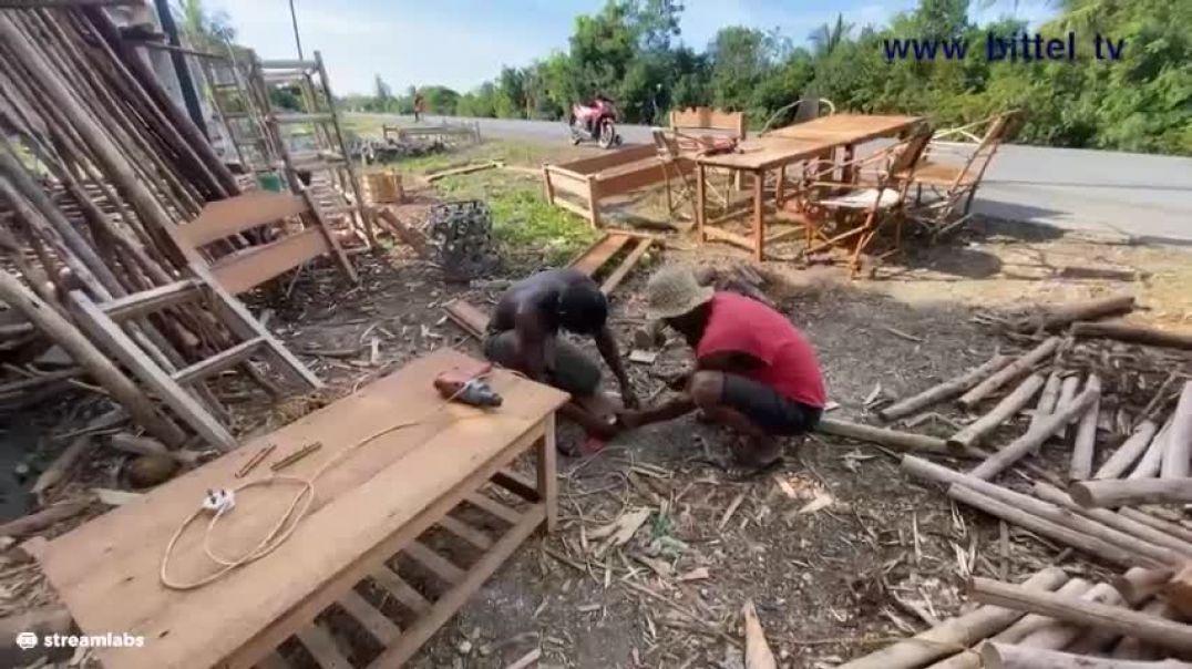 LIVE - Schreinerei in Sansibar