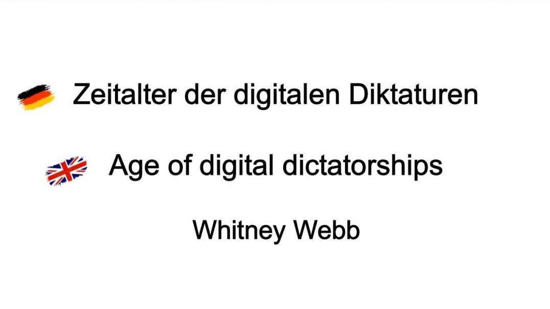 Whitney Webb: Zeitalter der digitalen Diktaturen