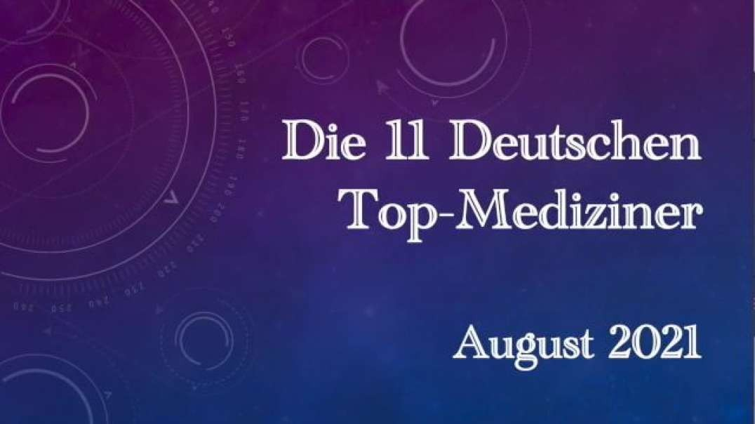 Die 11 deutschen Top-Mediziner begrüßen mit weit geöffneten Fenstern die 4. Welle
