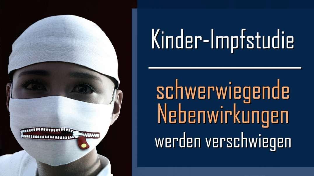 Kinder-Impfstudie: Schwerwiegende Nebenwirkungen werden verschwiegen