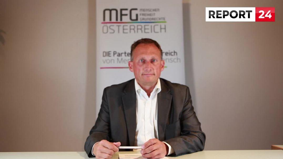 Dr. Pöttler nimmt für die Partei MFG Stellung zur militärischen Abriegelung von Braunau