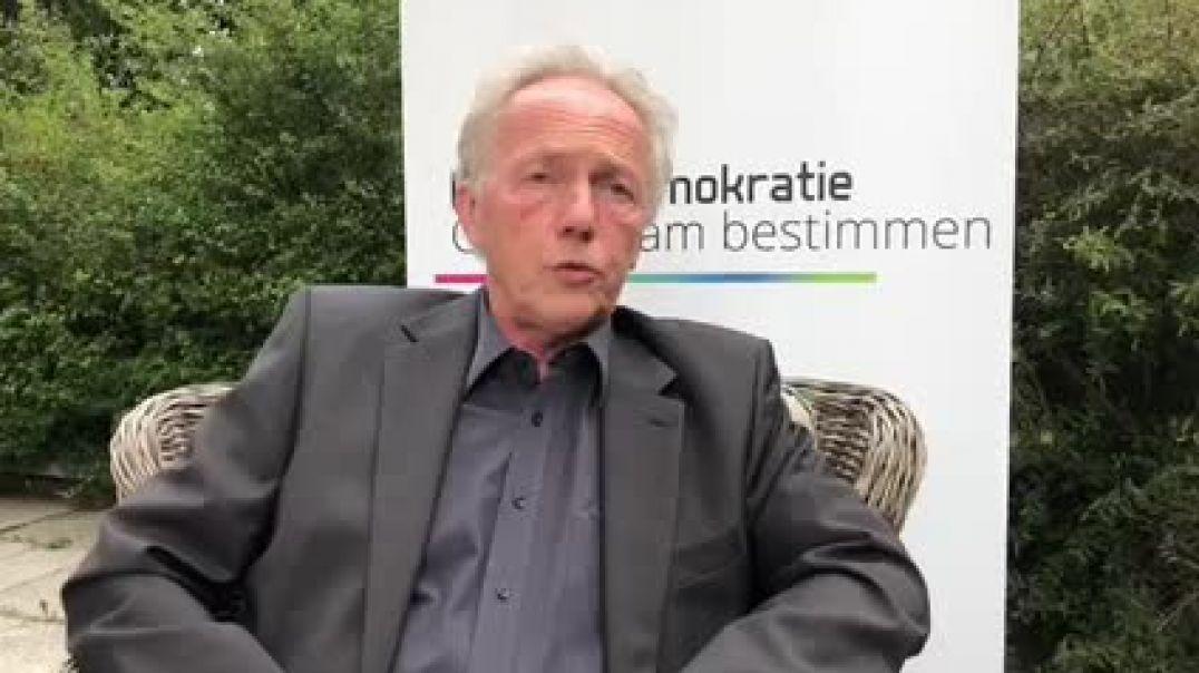 Dr. Michael Brunner, MFG, zum Thema Streichung des Arbeitslosengeldes für Ungeimpfte