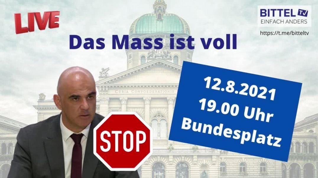 LIVE - Das Mass ist voll!!! - Demo in Bern