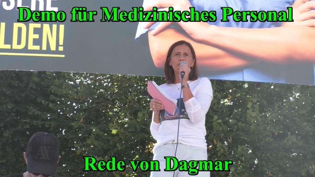 11.9.2021: DEMO FÜR MEDIZINISCHES PERSONAL - Rede von Dagmar