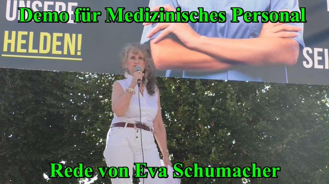 11.9.2021: DEMO FÜR MEDIZINISCHES PERSONAL - Rede von Eva Schumacher
