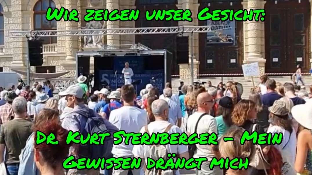 (183-T6) WIR ZEIGEN UNSER GESICHT: Dr. Kurt Sternberger. Wien 4.9.2021.