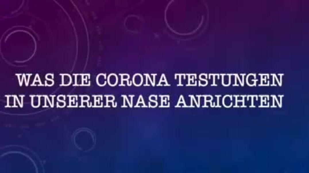 Berliner HNO- Arzt Dr. Josef Thoma über nasale Tests