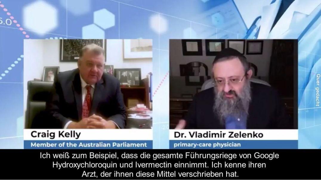 Google-Führungskräfte nehmen Ivermectin & Hydroxychloroquin (Dr. Zelenko) [DE/EN]