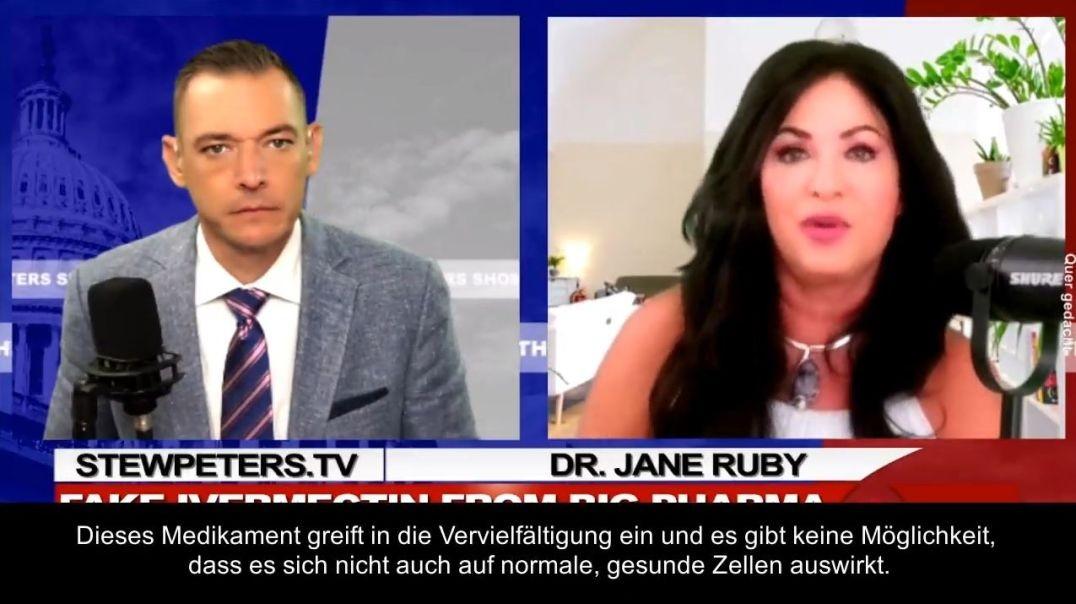 Molnupiravir ist eine Gen-Manipulation & verursacht Krebs (Dr. Jane Ruby) [DE/EN]