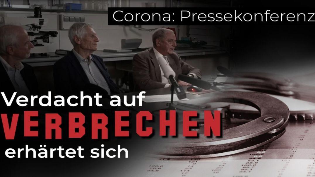 Corona: Pressekonferenz - Verdacht auf Verbrechen erhärtet sich